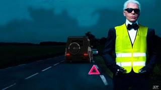 Водители обязаны одевать световозвращающий жилет
